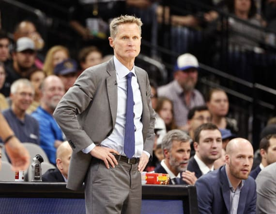 Steve Kerr says he may be done coaching