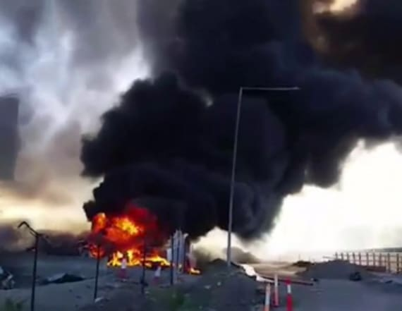 4 Americans killed when plane crashed into mall