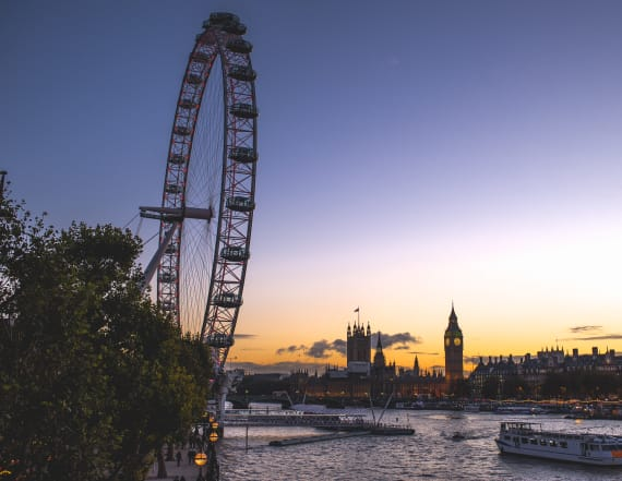 How to spend in the night on the London Eye
