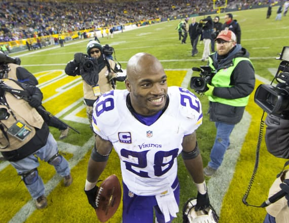 Adrian Peterson set to sign with New Orleans Saints