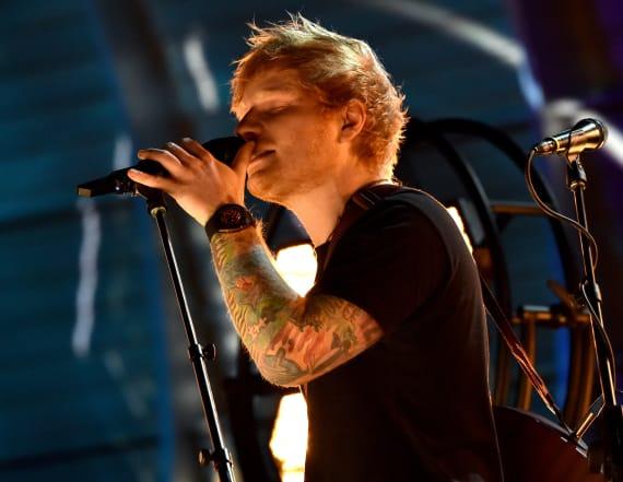Ed Sheeran surprises an 8-year-old fan on 'Ellen'