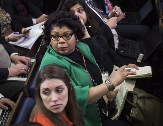 April Ryan speaks out after heated Spicer exchange