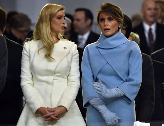 Report: Melania Trump 'frosty' with Ivanka Trump