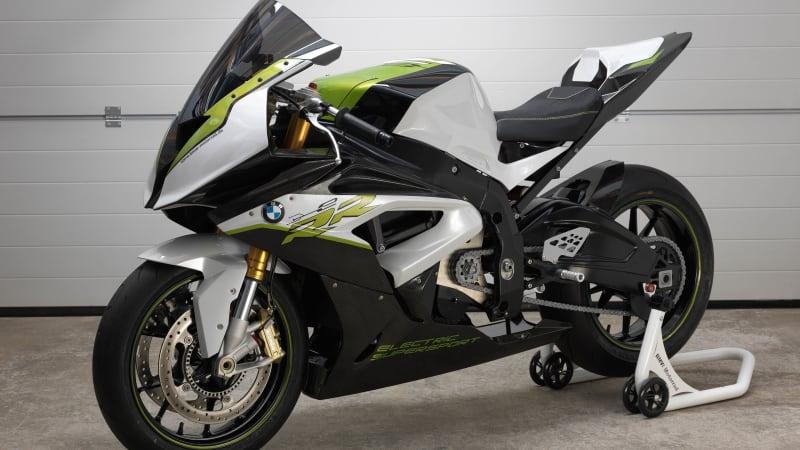 BMW Motorrad showcases Konzept eRR electric sport bike