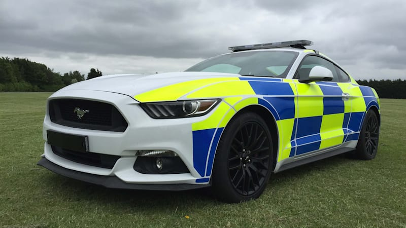Ford Mustang poised for police duty in UK