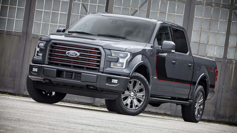 2016 ford f 150 gets sync 3 appearance packs autoblog. Black Bedroom Furniture Sets. Home Design Ideas