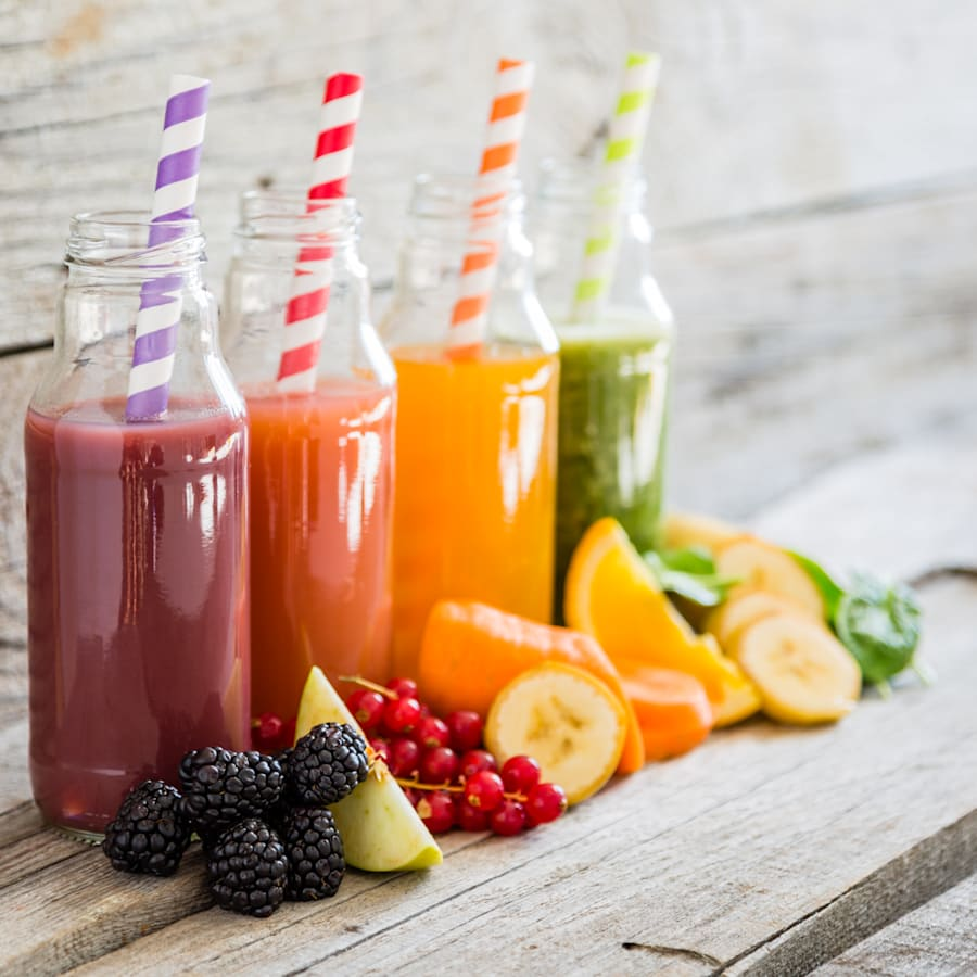 food healthy selection junk drinks smoothies colorful foods juice fruit labels istockphoto sneaky sugar added whole basically mean really super
