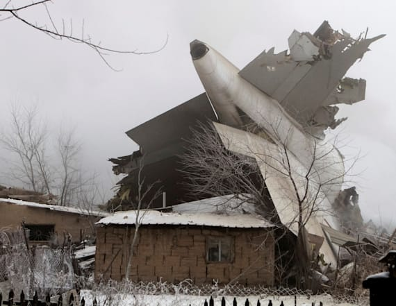 Kyrgyz neighborhood razed by plane crash