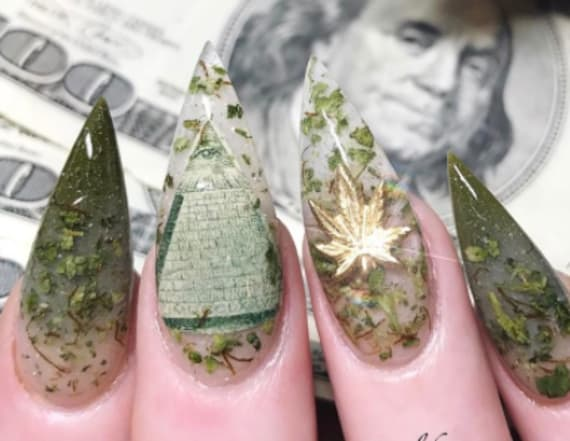 Weed nails are the new trend sweeping Instagram