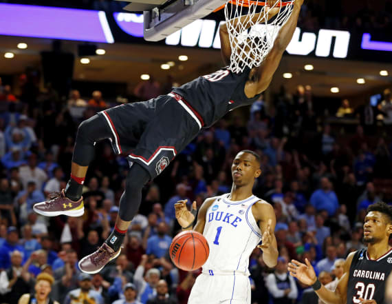 A look at the biggest March Madness upsets so far
