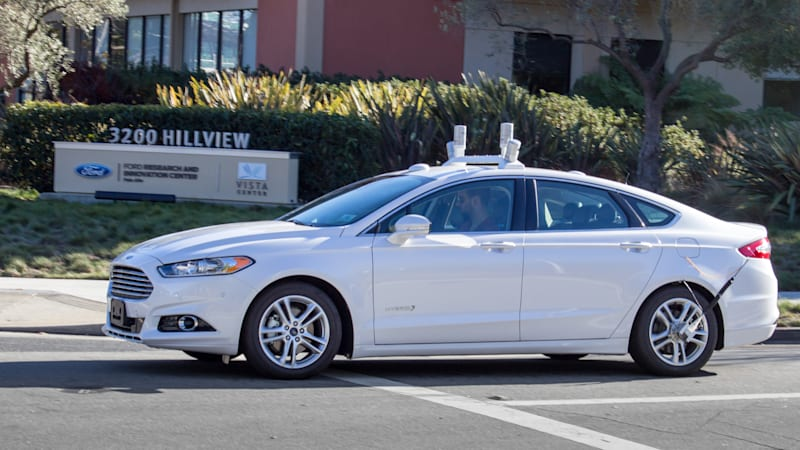 Ford launches self-driving car tests in California in 2016