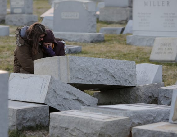 Headstones vandalized at another Jewish cemetery