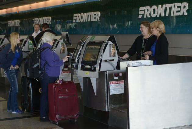 meet and assist frontier airlines