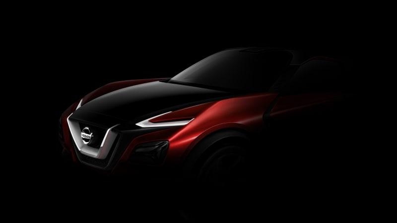 Nissan teases crossover concept for Frankfurt