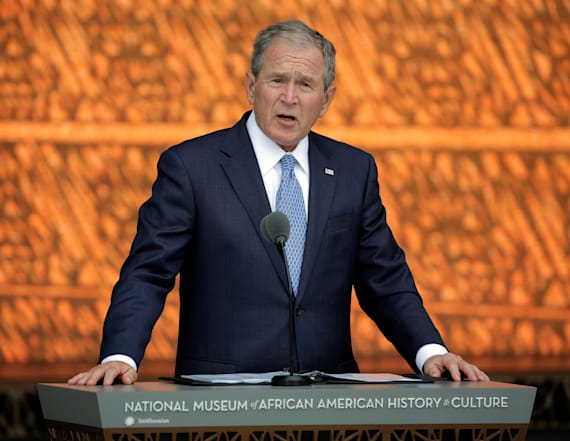 George W. Bush says press is 'indispensable'