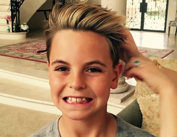 Too cute! Britney Spears' silly selfies with son