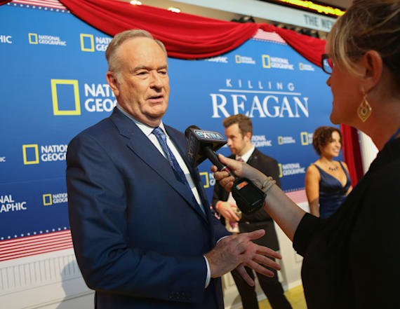 Bill O'Reilly's contentious comment sparks hashtag