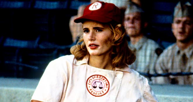 Geena Davis Hosts 'A League of Their Own' Reunion at ...