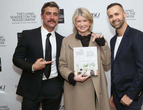 Martha Stewart and Saks celebrate book launch