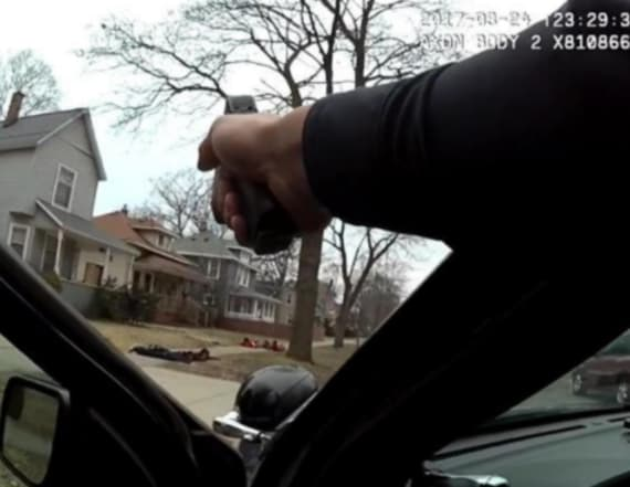 Police hold unarmed black youths at gun point