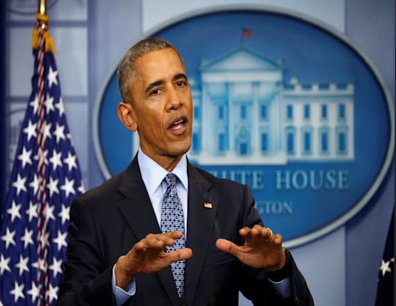 Obama rebukes claims of voter fraud as 'fake news'