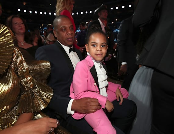 Blue Ivy totally won the GRAMMYs