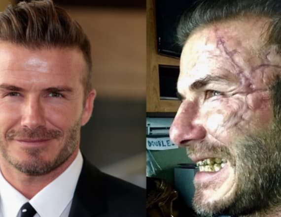 David Beckham is unrecognizable in new pic