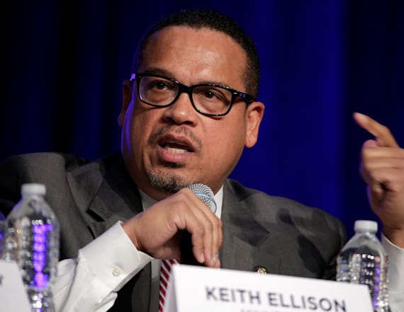 Trump weighs in on DNC race, Rep. Keith Ellison