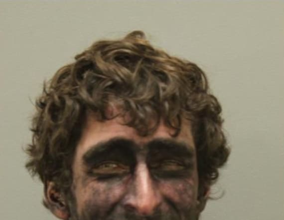 Texas man ends up with unforgettable mugshot