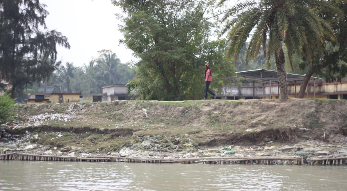 embankment of Sundarbans