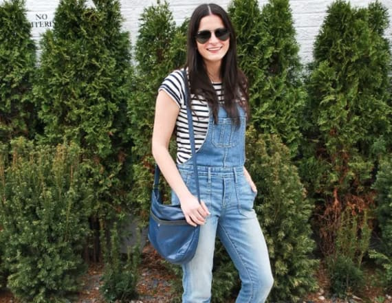 Street style tip of the day: Overalls and stripes