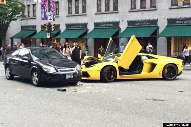 o VANCOUVER LAMBO CRASH 570 Lamborghini Aventador crashes in downtown Vancouver, funny tweets follow by Authcom, Nova Scotia\s Internet and Computing Solutions Provider in Kentville, Annapolis Valley