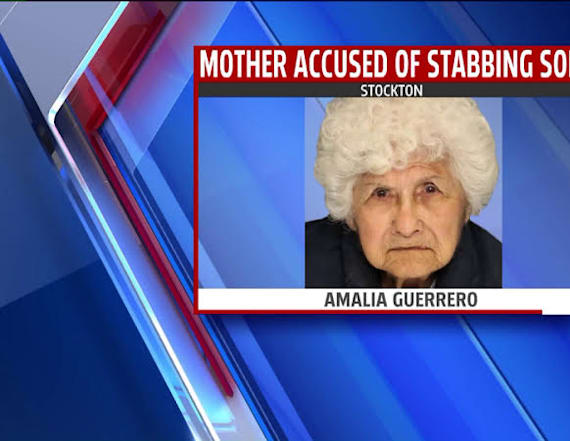88-year-old woman critically wounds son in stabbing