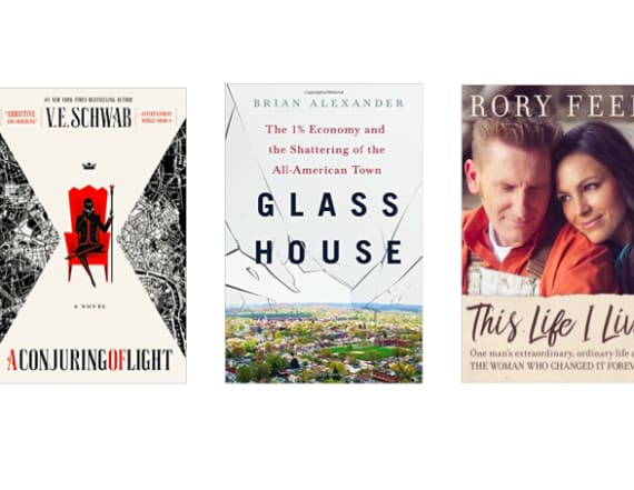 5 brand new best-selling books from Amazon