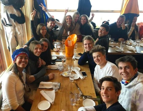 Malia Obama spotted with friends at Aspen hotspot