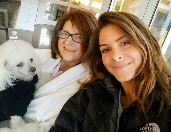 Maria Menounos gives update on mom's brain tumor