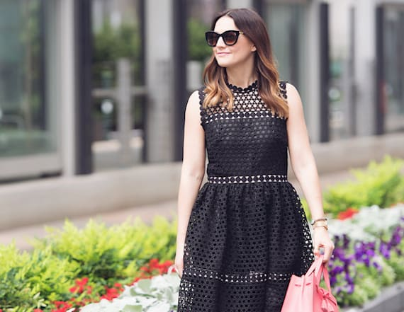 Street style tip of the day: Classic LBD