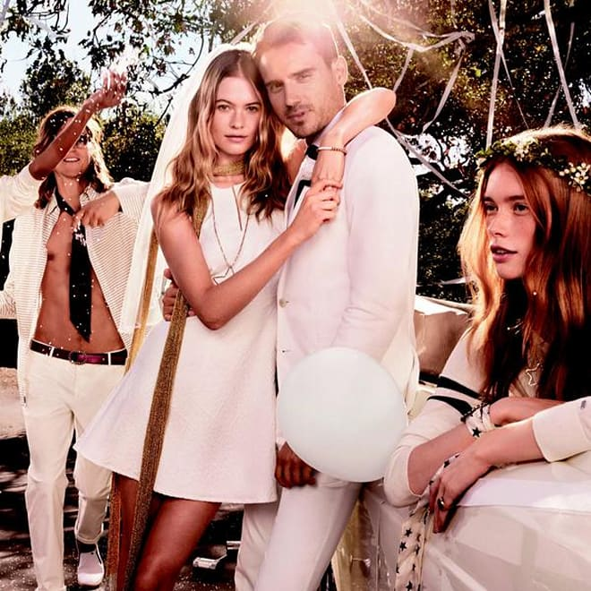 Behati Prinsloo Marries Adam Levine Lookalike In New