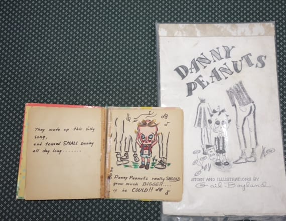 "Kid's book ""Danny Peanuts"" published 54 years later"