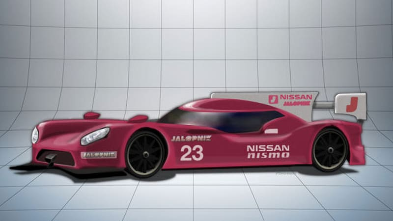 is nissan 39 s le mans lmp1 racer really going to be front engined autoblog. Black Bedroom Furniture Sets. Home Design Ideas