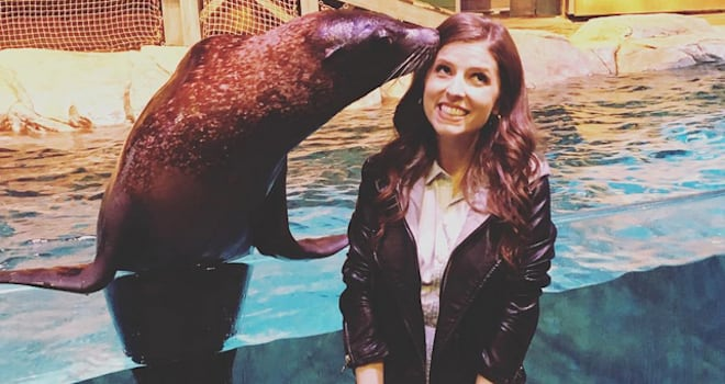 Watch 'Pitch Perfect 3' Stars Harmonize With a Dashing Sea Lion Named Diego