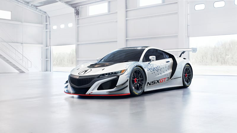 Acura NSX GT3 to make public debut this week at Mid-Ohio