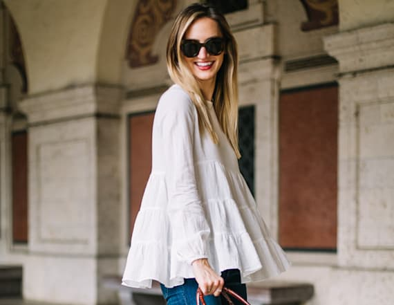 Street style tip of the day: White blouse