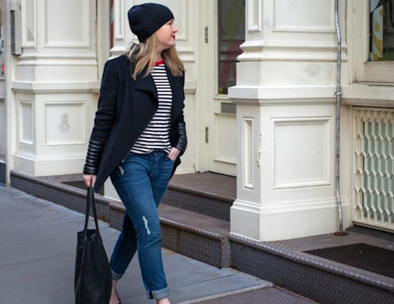 Street style tip of the day: Striped Tee