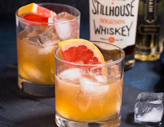 Cocktail of the week: Grapefruit whiskey sour
