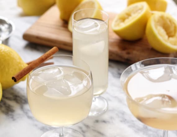 Cocktail of the week: Spiked winter lemonade