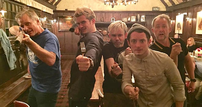'Lord of the Rings' Stars Troll Fans With Precious Reunion Photos
