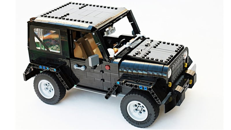 If you love this Lego Jeep Wrangler you can help make it a reality