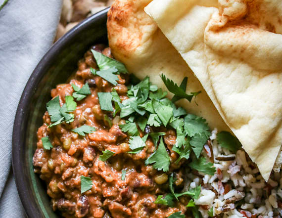 Quick, easy and delicious madras lentils