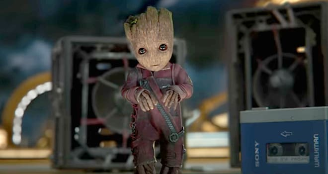'Guardians 2' Baby Groot Has No Memories of Adult Groot